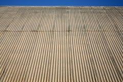 στέγη γραμμών κτηρίου Στοκ εικόνες με δικαίωμα ελεύθερης χρήσης