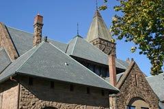 στέγη εκκλησιών στοκ εικόνα