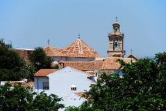 Στέγη εκκλησιών, Antequera Στοκ Φωτογραφία