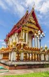 Στέγη εκκλησιών, wat Ταϊλάνδη Στοκ Εικόνα