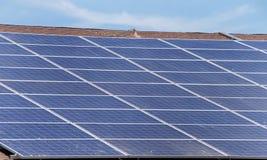 στέγη επιτροπών ηλιακή Στοκ φωτογραφία με δικαίωμα ελεύθερης χρήσης