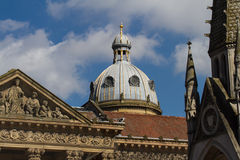 Στέγη καθεδρικών ναών στο Μπέρμιγχαμ Στοκ Φωτογραφία