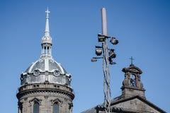 Στέγη και κουδούνι Στοκ Εικόνες