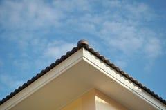 Στέγη και ουρανός Στοκ Φωτογραφίες