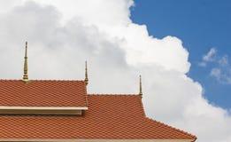 Στέγη και ουρανός Στοκ Εικόνες