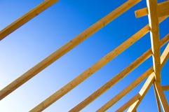 στέγη κατασκευής Στοκ φωτογραφίες με δικαίωμα ελεύθερης χρήσης