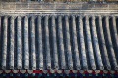 Στέγη κεραμιδιών στο Pavillion στοκ εικόνες