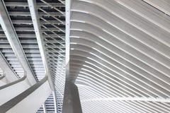 Στέγη Λιέγη χάλυβα Στοκ φωτογραφία με δικαίωμα ελεύθερης χρήσης