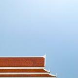 Στέγη ναών της Ταϊλάνδης Στοκ φωτογραφία με δικαίωμα ελεύθερης χρήσης