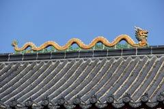 Στέγη ναών Στοκ Φωτογραφίες