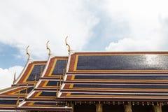 Στέγη ναών Στοκ Εικόνες