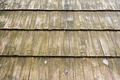 στέγη ξύλινη Στοκ Εικόνα