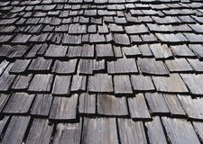 στέγη ξύλινη Στοκ Φωτογραφίες