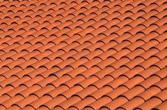 στέγη που κεραμώνεται κόκ& Στοκ φωτογραφία με δικαίωμα ελεύθερης χρήσης