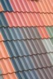 στέγη που κεραμώνεται Στοκ φωτογραφία με δικαίωμα ελεύθερης χρήσης
