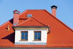 στέγη που κεραμώνεται Στοκ εικόνα με δικαίωμα ελεύθερης χρήσης