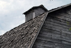 στέγη σιταποθηκών Στοκ φωτογραφίες με δικαίωμα ελεύθερης χρήσης