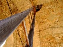 στέγη σκαλών στοκ φωτογραφία