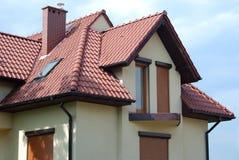 στέγη σπιτιών Στοκ φωτογραφία με δικαίωμα ελεύθερης χρήσης