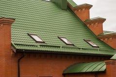 στέγη σπιτιών Στοκ Εικόνες