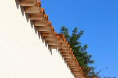 στέγη σπιτιών Στοκ εικόνα με δικαίωμα ελεύθερης χρήσης