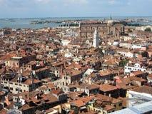 Στέγη στη Βενετία Στοκ Φωτογραφία