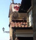 Στέγη στη Φλωρεντία στοκ φωτογραφία με δικαίωμα ελεύθερης χρήσης