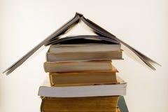 στέγη σωρών OH βιβλίων στοκ εικόνες με δικαίωμα ελεύθερης χρήσης