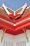 στέγη Ταϊλανδός αρχιτεκτ&omicr Στοκ Εικόνες