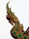 στέγη Ταϊλανδός διακοσμήσ Στοκ Εικόνα