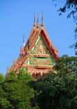 στέγη Ταϊλανδός μοναστηριών Στοκ εικόνες με δικαίωμα ελεύθερης χρήσης