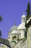 στέγη της Ιερουσαλήμ θόλων εκκλησιών στοκ φωτογραφία