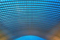 Στέγη της Λιέγης Guillemins Στοκ φωτογραφία με δικαίωμα ελεύθερης χρήσης