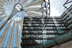 Στέγη του κέντρου της Sony σύνθετου Στοκ φωτογραφία με δικαίωμα ελεύθερης χρήσης