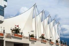 Στέγη του μέρους του Καναδά στο Βανκούβερ κεντρικός Στοκ φωτογραφία με δικαίωμα ελεύθερης χρήσης
