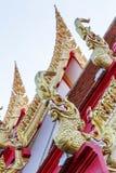 Στέγη του ναού στοκ εικόνες