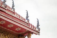 Στέγη του ναού Στοκ Εικόνα