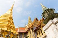 Στέγη του ναού Wat Po Στοκ φωτογραφία με δικαίωμα ελεύθερης χρήσης