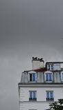 Στέγη του Παρισιού Στοκ Φωτογραφία