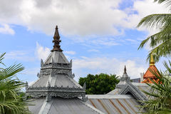 Στέγη του ταϊλανδικού ύφους Στοκ φωτογραφία με δικαίωμα ελεύθερης χρήσης