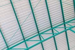 Στέγη φύλλων μετάλλων Στοκ φωτογραφία με δικαίωμα ελεύθερης χρήσης
