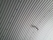 Στέγη φύλλων μετάλλων Στοκ εικόνες με δικαίωμα ελεύθερης χρήσης