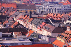 στέγη Στοκ εικόνα με δικαίωμα ελεύθερης χρήσης