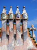 Στέγη Batllo Casa στοκ φωτογραφία με δικαίωμα ελεύθερης χρήσης