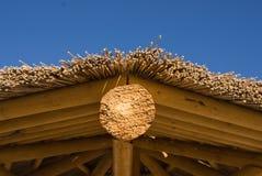 στέγη palapa Στοκ εικόνα με δικαίωμα ελεύθερης χρήσης