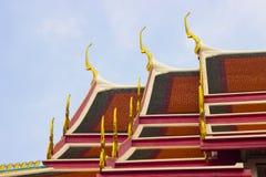 Στέγη Wat Pho Στοκ Εικόνες