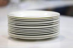 Στέλεχος των πιάτων Στοκ Φωτογραφίες