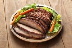 Στήθος βόειου κρέατος σχαρών στοκ εικόνες με δικαίωμα ελεύθερης χρήσης