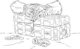 Στήθος θησαυρών Στοκ φωτογραφίες με δικαίωμα ελεύθερης χρήσης