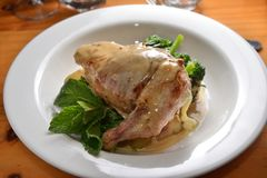 Στήθος κοτόπουλου Pocketed Στοκ φωτογραφία με δικαίωμα ελεύθερης χρήσης